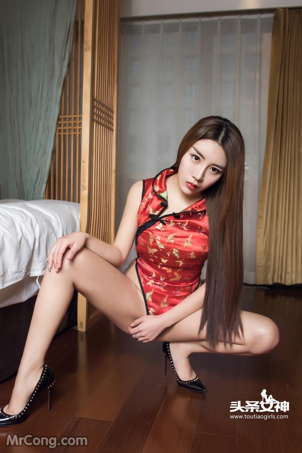 Image MrCong.com-TouTiao-2016-12-13-An-Su-Rui-009 in post TouTiao 2016-12-13: Người mẫu An Su Rui (安苏芮) (18 ảnh)