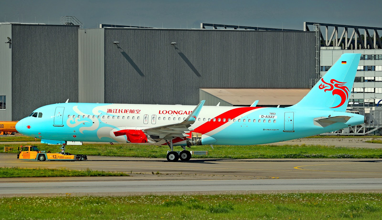 Loong Air Airbus A320neo on Runway