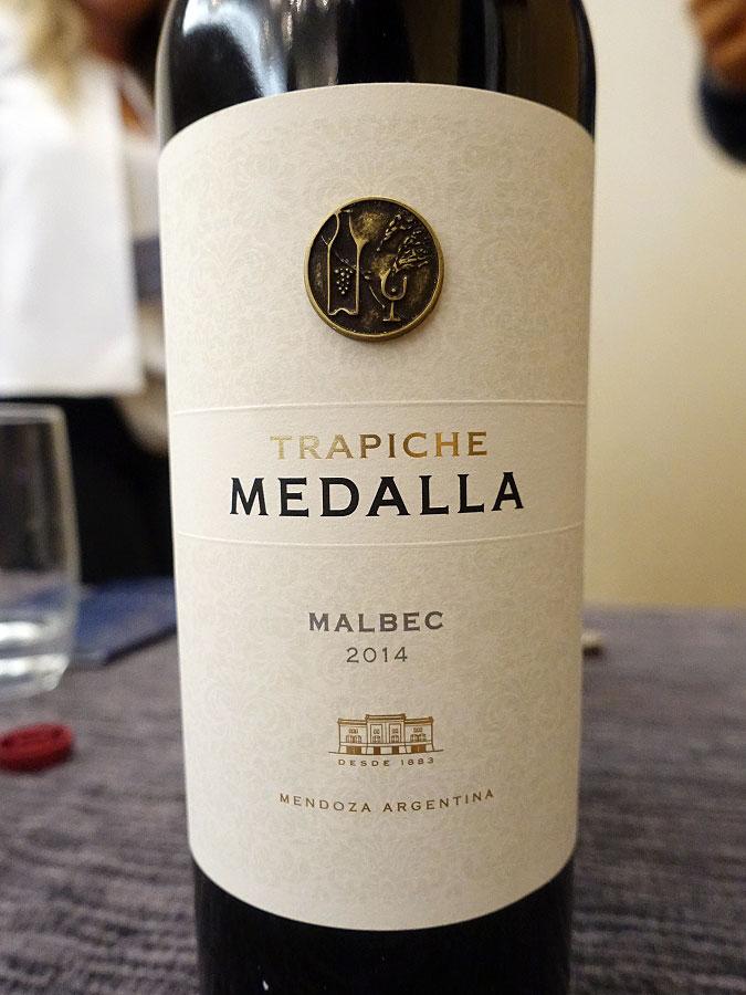 Trapiche Medalla Malbec 2014 (89 pts)