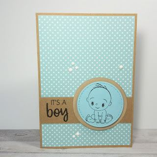 baby card it's a boy