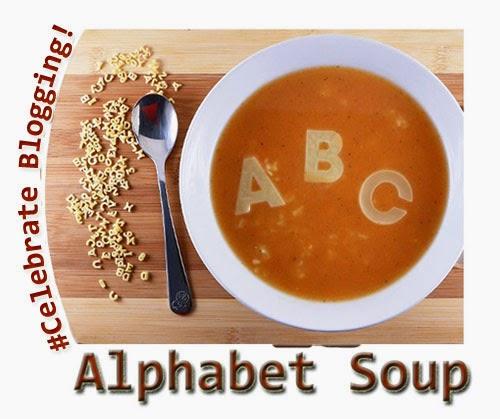 Celebrate Blogging Contest - Alphabet Soup