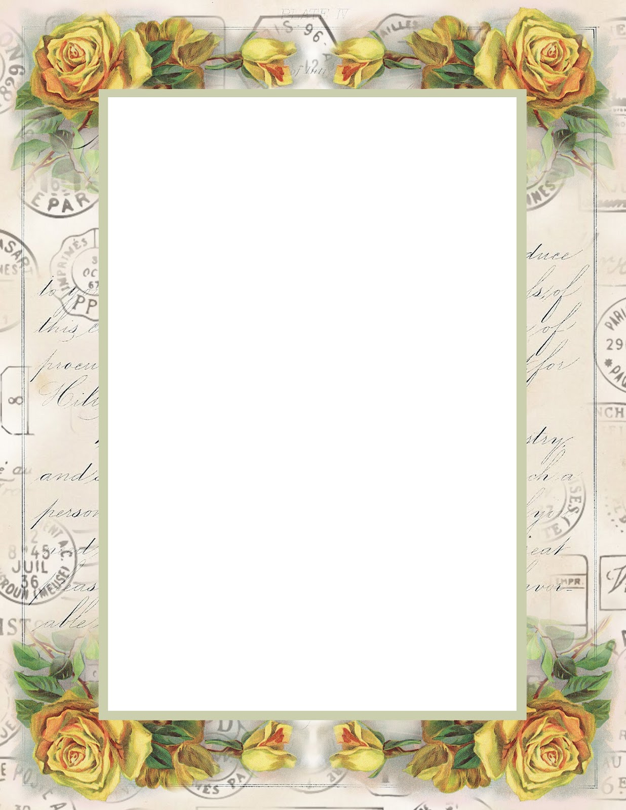 Amazing image inside free printable stationary borders