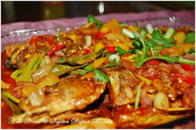resepi mudah  sedap masak ikan siakap  rasa biskut tawar Resepi Sup Ikan Dowry Enak dan Mudah