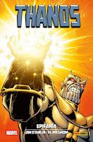 100% Marvel HC. Thanos: Epifanía