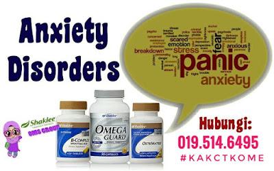 Suplemen bagi Menangani Masalah Anxiety Disorder