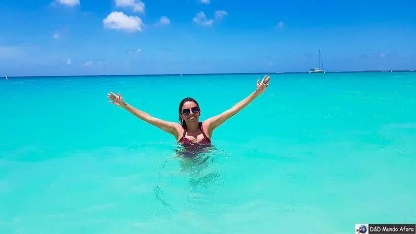Praia de Eagle Beach em Aruba - Roteiro de 8 dias no cruzeiro pelo Caribe