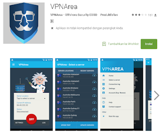 VPN Area Di android