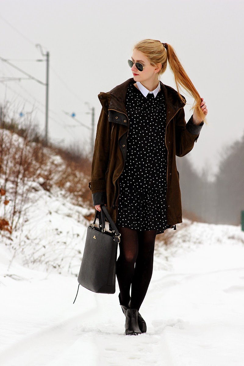 LOOK OF THE DAY: DOTS SimplyTheBest Blog created by Ewa Sularz