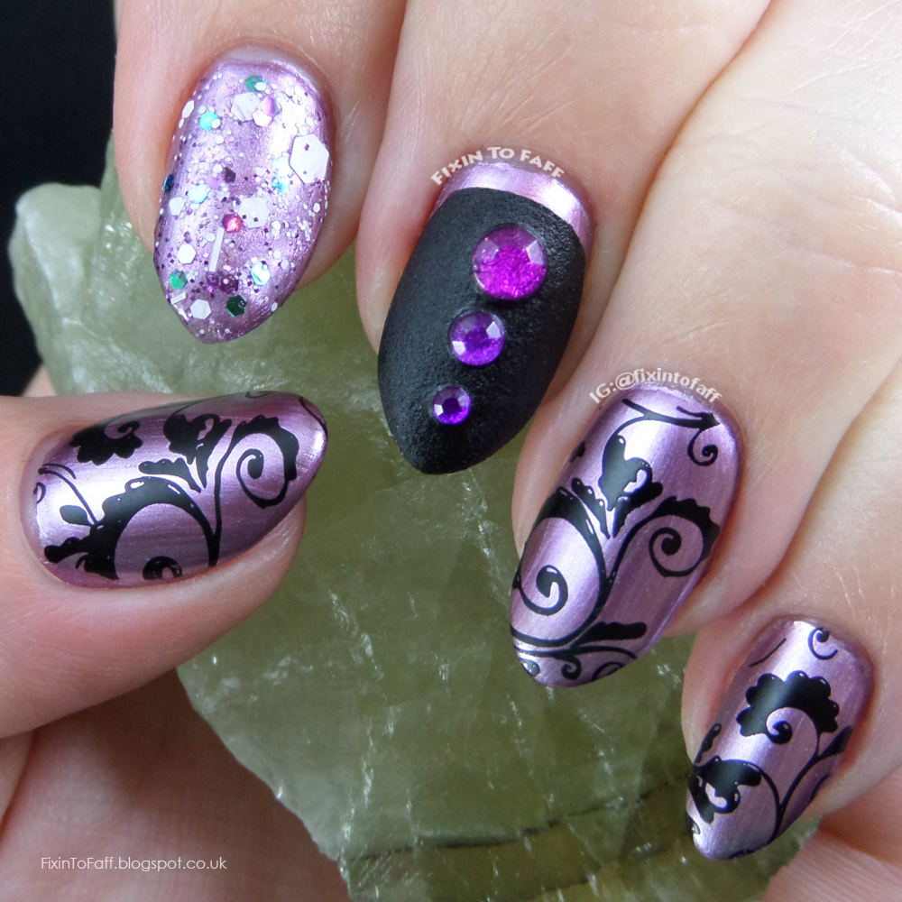 Chrome Nail Art Designs: Fixin To Faff