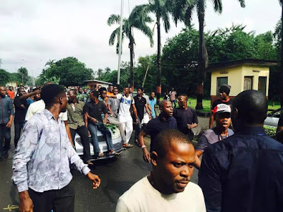 Showdown in UNILAG over Death of 1st Class Student