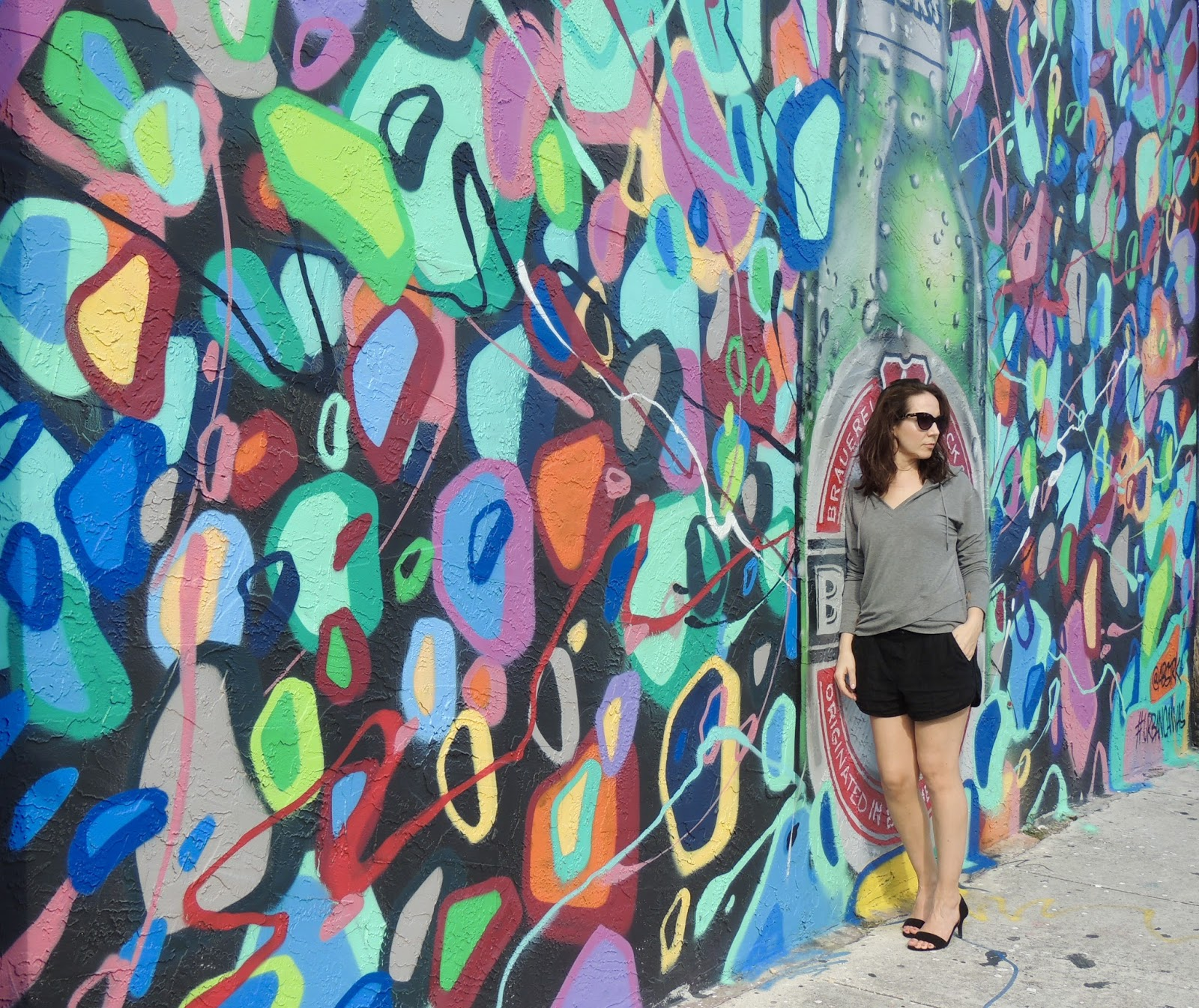 Bench Store Montreal Exploring Wynwood Walls With Bench Canada Pearls And Caramel