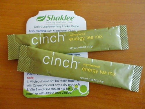 Cinch Energy Tea Mix Shaklee, gambar Cinch Energy Tea Mix Shaklee, cara membeli Cinch Energy Tea Mix Shaklee, tempahan dan order produk Shaklee, cara pengambilan Cinch Energy Tea Mix Shaklee, kelebihan Cinch Energy Tea Mix Shaklee