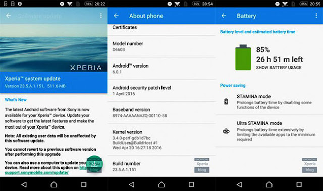 Sony Get Update Android Marshmallow beta version