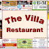 The Villa's new placemat