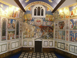 Giotto's brilliant frescoes cover the walls of the Scrovegni Chapel, one of the Italy's great artistic treasures