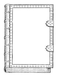 frame label old book illustration image clipart