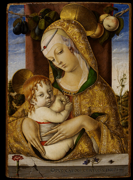 IDLE SPECULATIONS Crivelli and the Madonna and Child