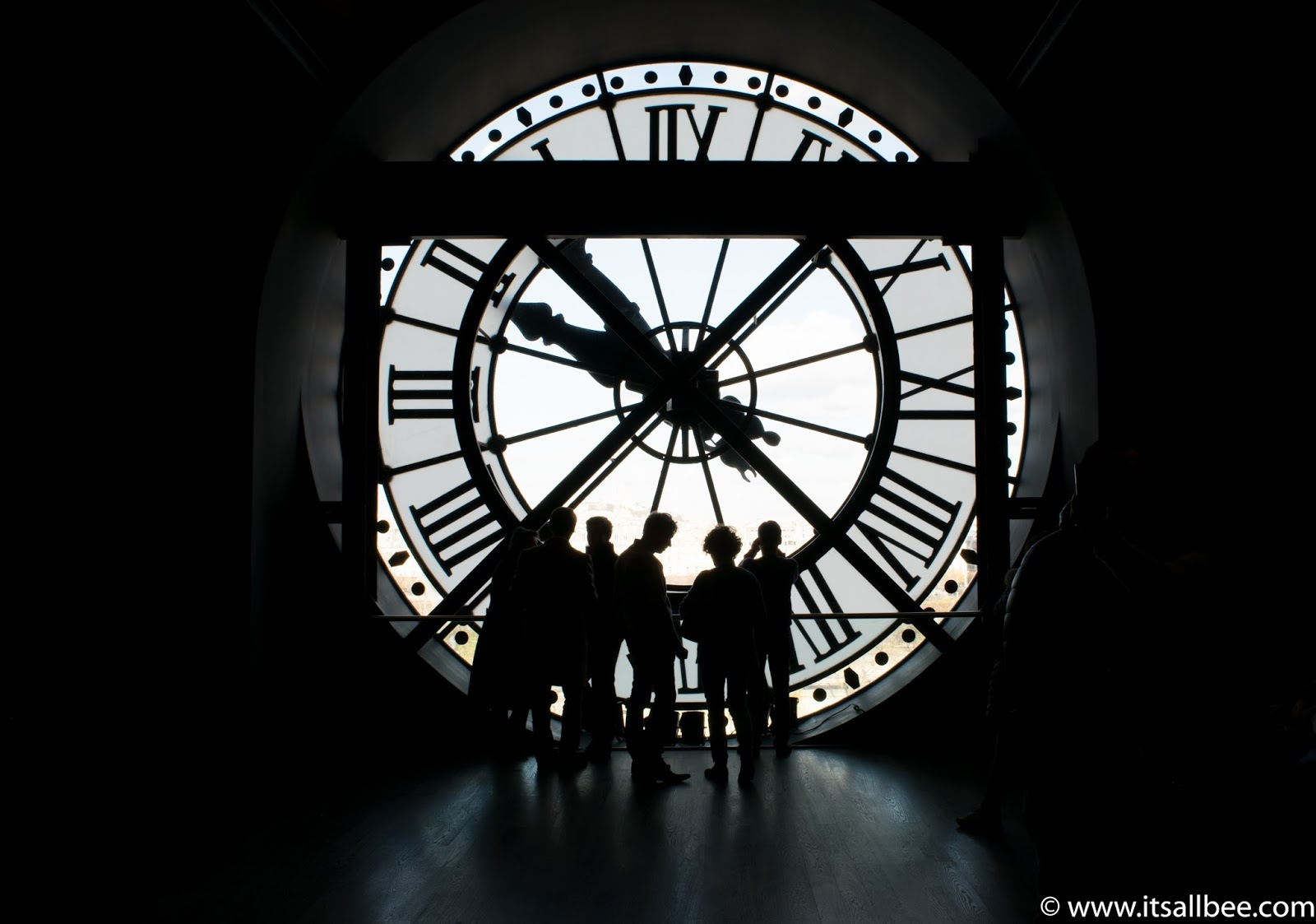 Behind the Clock - Musee d'Orsay - Paris. Photo by Bianca - www.itsallbee.com