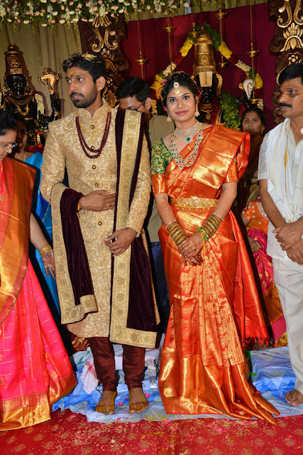 Celebs at Boyapati Srinu Brother Boyapati Brahmananda Rao Daughter Wedding Photos_82