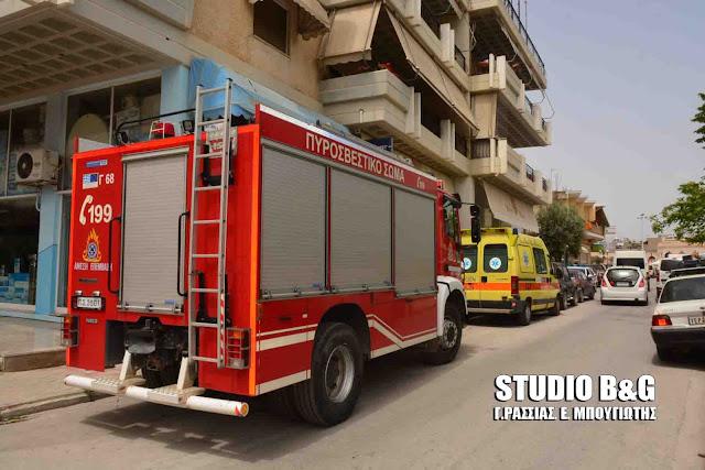 Άμεση κινητοποίηση της πυροσβεστικής απέτρεψε την επέκταση πυρκαγιάς σε σπίτι στο Άργος