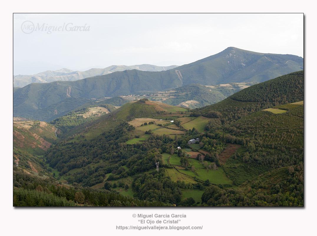 A paisaxe do Cebreiro, Lugo.