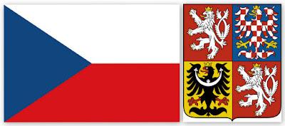 Флаг и герб Чехии