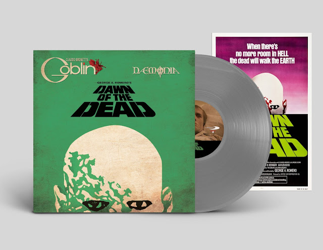Dawn Of the Dead Soundtrack Limited Grey Vinyl Plus Poster