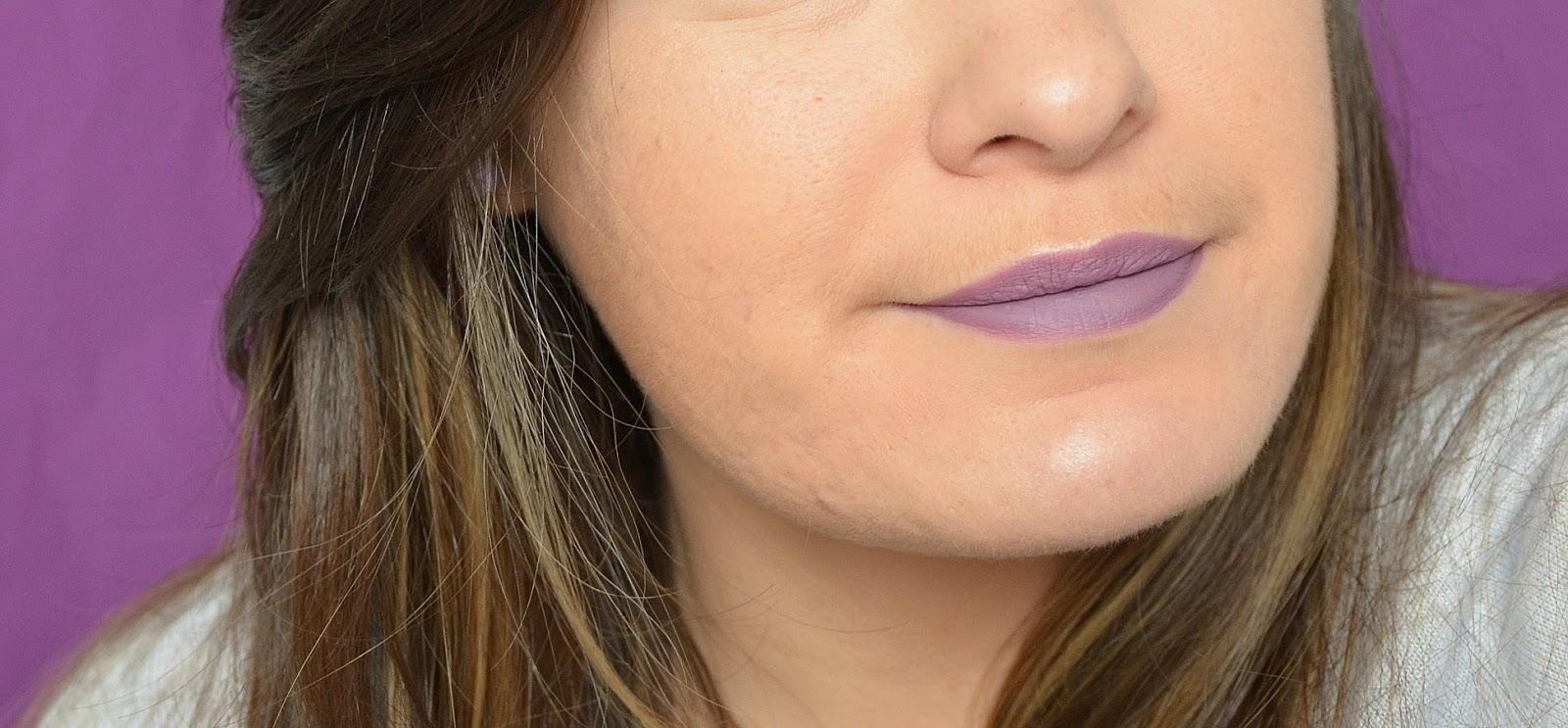 Rouge à lèvres liquide sans transferts bohemian purple 35 sephora