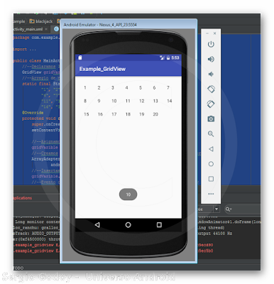 Android Studio - GridView