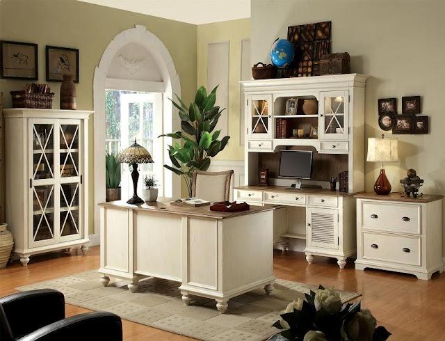 best vintage white office furniture sets design and decorating ideas
