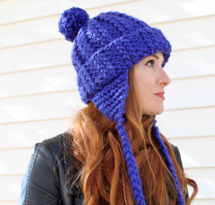 Knitting Patterns Ladies Winter Hats : Free Knitting Patterns for Winter Hats - Gina Michele