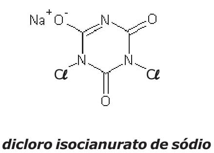 dicloro isocianurato de sódio