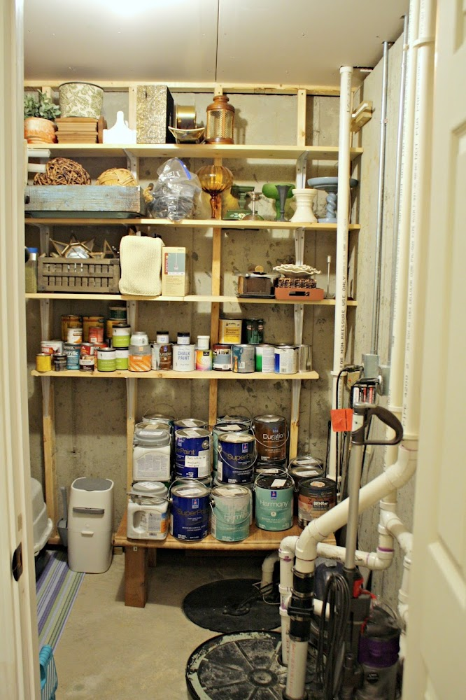 small storage room organization