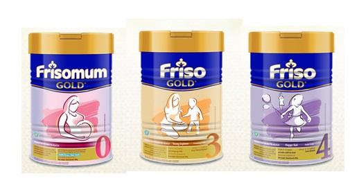 Friso, Susu Terbaik Untuk Ibu dan Anak
