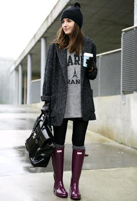 Botas de invierno para señoritas