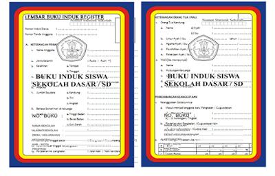 Download Aplikasi Buku Induk SD/MI Tanpa Protect