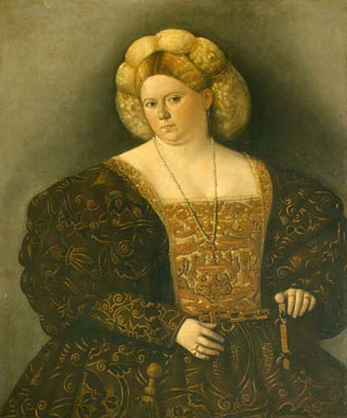 Amphorae Italian Renaissance Hairstyles
