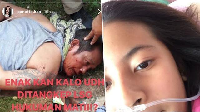 Begini Reaksi Zanette Putri Dodi Triono Saat Tahu Pembunuh Keluarganya Tertangkap