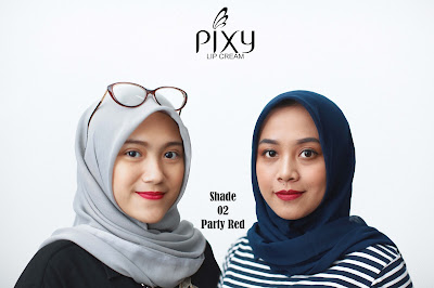 shade pixy lip cream 02 party red