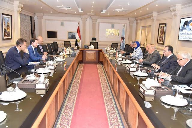 مُباحثات ناجحة للهيئة العربية للتصنيع مع كبري الشركات الدولية لتطوير صناعة السكك الحديدية