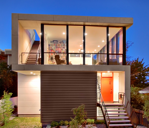 Exterior Small Home Design Ideas: New Home Designs Latest.: Modern Small Homes Designs Ideas