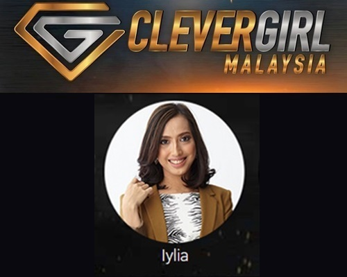 Biodata Iylia Clever Girl Malaysia 2017, profile Iylia, biografi, profil dan latar belakang Iylia Clever Girl Malaysia TV3 2017 musim 2, foto, gambar Iylia Clever Girl Malaysia musim kedua