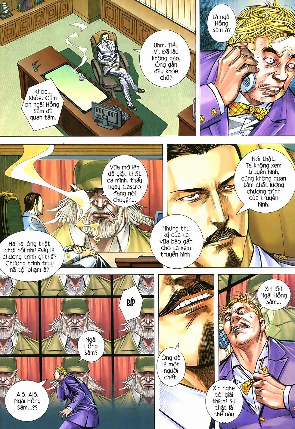 Đại Quân Phiệt chap 12 trang 12