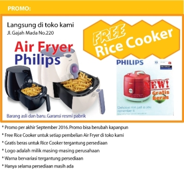Air Fryer Free Rice Cooker