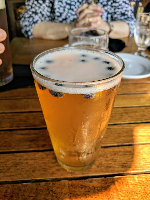 Craft Beer in Western New York: Ellicottville Brewing Company's Blueberry Wheat