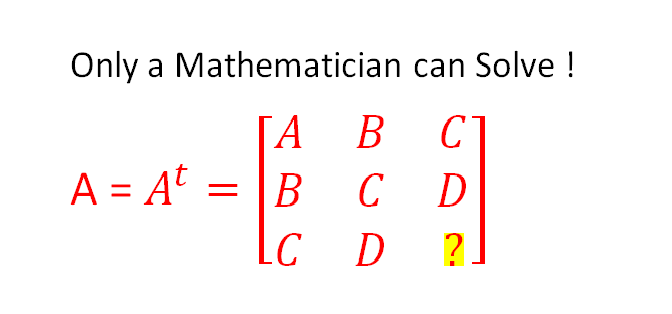 HOW TO UNDERSTAND SYMMETRIC AND SKEW SYMMETRIC MATRICES