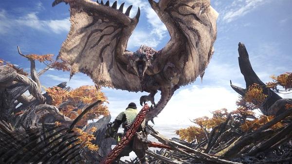 لعبة Monster Hunter World متوفرة الآن التجربة بالمجان على جهاز PS4