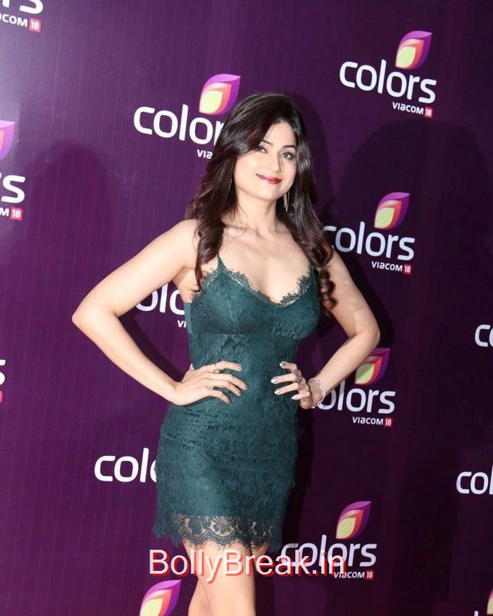 Shamita Shetty, Hot Pics of Mandira Bedi Tina Dutta At Colors Leadership Awards 2015