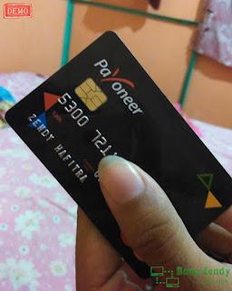 Cara Daftar/Mendapatkan Kartu Debit MasterCard Payooner Gratis