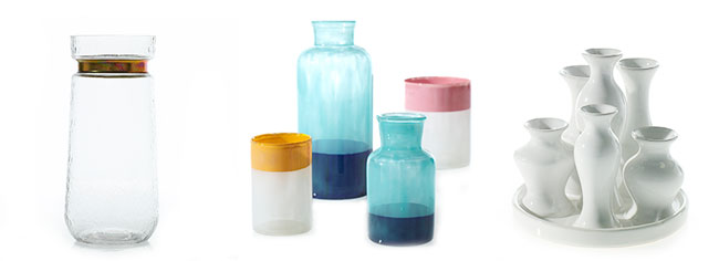 modern and bright wholesale vases from Accent Decor
